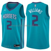 Barn NBA Tröja Charlotte Hornets 2018 Marvin Williams 2# Icon Edition..