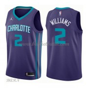 Barn NBA Tröja Charlotte Hornets 2018 Marvin Williams 2# Statement Edition..