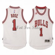 Barn NBA Tröja Chicago Bulls Derrick Rose 1# Home..