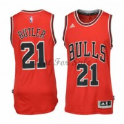 Barn NBA Tröja Chicago Bulls Jimmy Butler 21# Road..