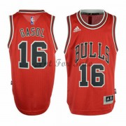 Barn NBA Tröja Chicago Bulls Pau Gasol 16# Road..