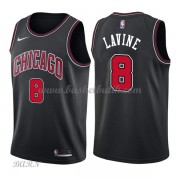 Barn NBA Tröja Chicago Bulls 2018 Zach Lavine 8# Statement Edition..