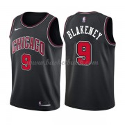 Chicago Bulls Basket Tröja 2018 Antonio Blakeney 9# Statement Edition..