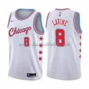 Chicago Bulls Basket Tröja 2018 Zach Lavine 8# City Edition..