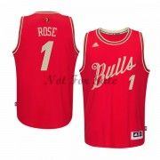 Chicago Bulls Basket Linne Derrick Rose 1# NBA Jul Tröja..
