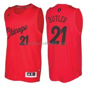 Chicago Bulls Basketkläder 2016 Jimmy Butler 21# NBA Jultröja..