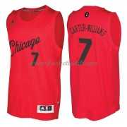Chicago Bulls Basketkläder 2016 Michael Carter-Williams 7# NBA Jultröja..