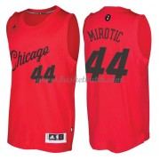 Chicago Bulls Basketkläder 2016 Nikola Mirotic 44# NBA Jultröja..