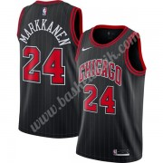 Chicago Bulls Basket Tröja 2019-20 Lauri Markkanen 24# Svart Finished Statement Edition Swingman..