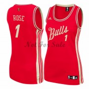 Chicago Bulls Basketkläder Derrick Rose 1# NBA Jultröja..