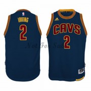 Barn NBA Tröja Cleveland Cavaliers Kyrie Irving 2# Marin Alternate..