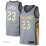 Barn NBA Tröja Cleveland Cavaliers 2018 LeBron James 23# City Edition..
