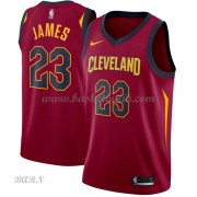 Barn NBA Tröja Cleveland Cavaliers 2018 LeBron James 23# Icon Edition..