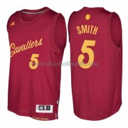 Cleveland Cavaliers Basketkläder 2016 J.R. Smith 5# NBA Jultröja..