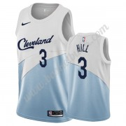 Cleveland Cavaliers Basket Tröja 2019-20 George Hill 3# Vit Earned Edition Swingman..