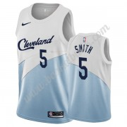 Cleveland Cavaliers Basket Tröja 2019-20 J.R. Smith 5# Vit Earned Edition Swingman..