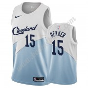 Cleveland Cavaliers Basket Tröja 2019-20 Sam Dekker 15# Vit Earned Edition Swingman..