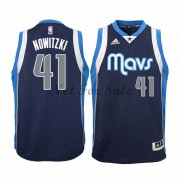 Barn NBA Tröja Dallas Mavericks Dirk Nowitzki 41# Alternate..