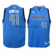 Barn NBA Tröja Dallas Mavericks Dirk Nowitzki 41# Road..