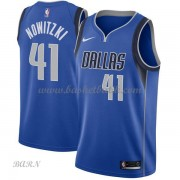 Barn NBA Tröja Dallas Mavericks 2018 Dirk Nowitzki 41# Icon Edition..