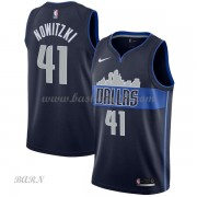 Barn NBA Tröja Dallas Mavericks 2018 Dirk Nowitzki 41# Statement Edition..