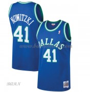 Barn NBA Tröja Dallas Mavericks 1998-99 Dirk Nowitzki 41# Blue Hardwood Classics..