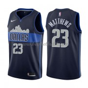 Dallas Mavericks Basket Tröja 2018 Wesley Matthews 23# Statement Edition..