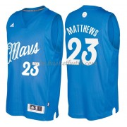 Dallas Mavericks Basketkläder 2016 Wesley Matthews 23# NBA Jultröja..