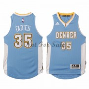 Barn NBA Tröja Denver Nuggets Kenneth Faried 35# Road..