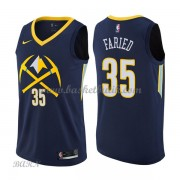 Barn NBA Tröja Denver Nuggets 2018 Kenneth Faried 35# City Edition..