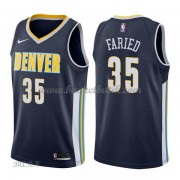 Barn NBA Tröja Denver Nuggets 2018 Kenneth Faried 35# Icon Edition..