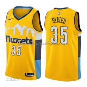 Barn NBA Tröja Denver Nuggets 2018 Kenneth Faried 35# Statement Edition..