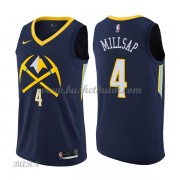 Barn NBA Tröja Denver Nuggets 2018 Paul Millsap 4# City Edition..