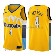 Barn NBA Tröja Denver Nuggets 2018 Paul Millsap 4# Statement Edition..
