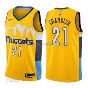 Barn NBA Tröja Denver Nuggets 2018 Wilson Chandler 21# Statement Edition..