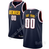 Barn NBA Tröja Denver Nuggets 2019-20 Marinblå Icon Edition Swingman