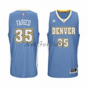 Denver Nuggets Basket Tröja Kenneth Faried 35# Road..