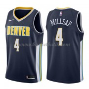 Denver Nuggets Basket Tröja 2018 Paul Millsap 4# Icon Edition..