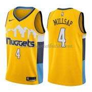 Denver Nuggets Basket Tröja 2018 Paul Millsap 4# Statement Edition..