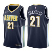 Denver Nuggets Basket Tröja 2018 Wilson Chandler 21# Icon Edition..