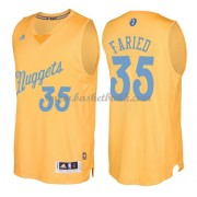 Denver Nuggets Basketkläder 2016 Kenneth Faried 35# NBA Jultröja..
