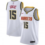 Denver Nuggets Basket Tröja 2019-20 Nikola Jokic 15# Vit Association Edition Swingman..