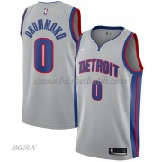 Barn NBA Tröja Detroit Pistons 2018 Andre Drummond 0# Statement Edition..