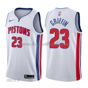 Barn NBA Tröja Detroit Pistons 2018 Blake Griffin 23# Association Edition..
