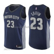 Barn NBA Tröja Detroit Pistons 2018 Blake Griffin 23# City Edition..