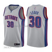 Barn NBA Tröja Detroit Pistons 2018 Jon Leuer 30# Statement Edition..