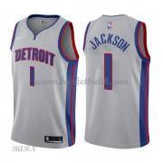 Barn NBA Tröja Detroit Pistons 2018 Reggie Jackson 1# Statement Edition..