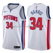 Barn NBA Tröja Detroit Pistons 2018 Tobias Harris 34# Association Edition..