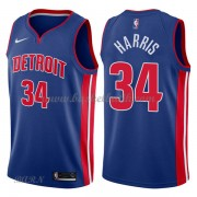 Barn NBA Tröja Detroit Pistons 2018 Tobias Harris 34# Icon Edition..