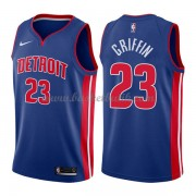 Detroit Pistons Basket Tröja 2018 Blake Griffin 23# Icon Edition..
